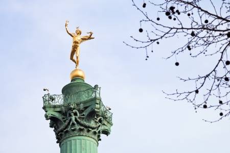 July Column on Place de la Bastille in Paris