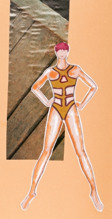 model of woman clothing - swimming suit Stock Photo - 19941418