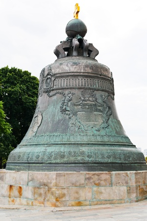 tsar: big Tsar Bell in Moscow Kremlin Stock Photo