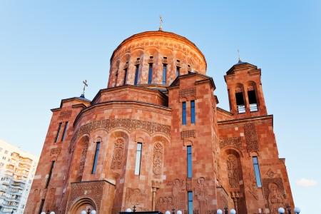 apostolic: building of Armenian Apostolic Church in Moscow Editorial