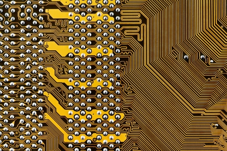 component circuit board background close up photo