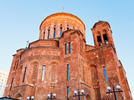apostolic: cathedral of the Armenian Apostolic Church in Moscow