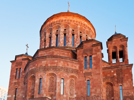apostolic: classical Armenian cathedral of the Armenian Apostolic Church in Moscow