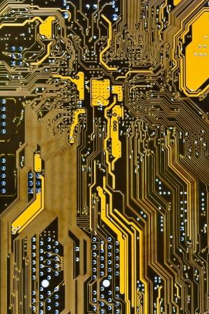 integrated circuit board background close up photo