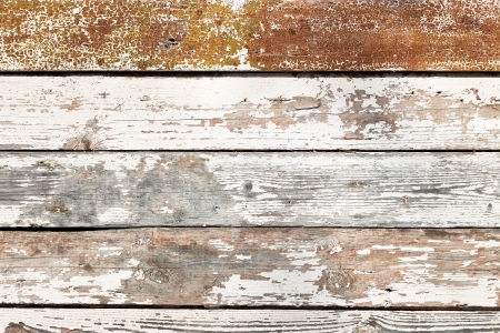 planking: background from old shabby wooden planking