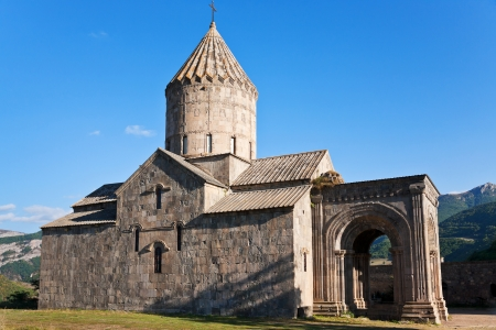 tatev: cathedral of st. pogos and petros in Tatev Monastery in Armenia