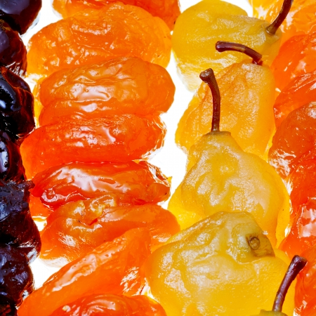 armene dolci frutti zuccherati close up