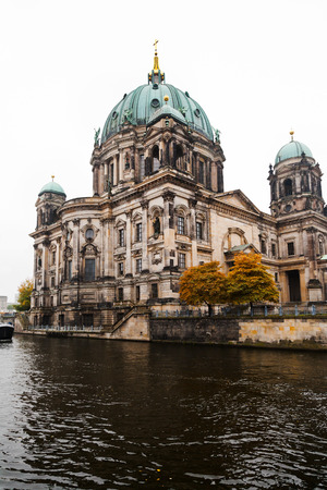 view of Berliner dom (The Cathedral of Berlin) and Spree river photo