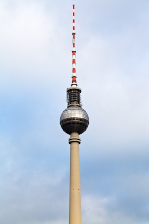 Fernsehturm Alexanderplatz TV tower in Berlin, Germany