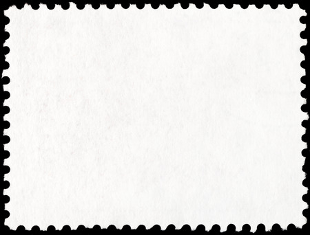 background from reverse side of old rectangular postage stamp photo