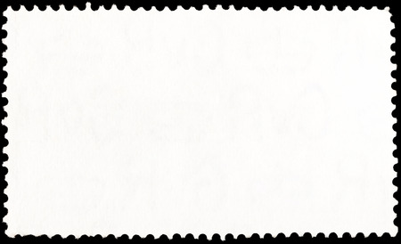 background from reverse side of long rectangular postage stamp photo