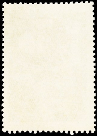 background from reverse side of used vertical postage stamp photo