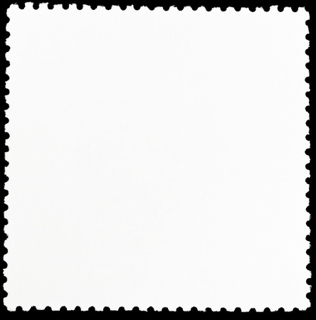 background from reverse side of square postage stamp photo