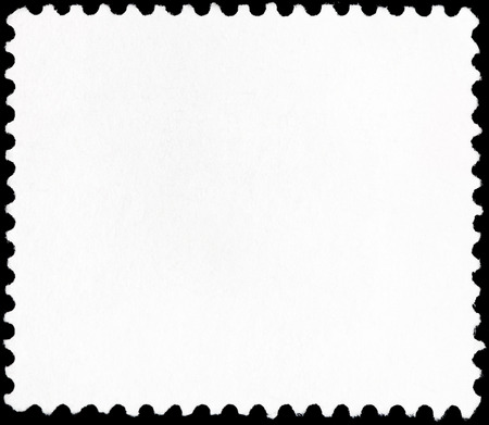 background from reverse side of small square postage stamp photo
