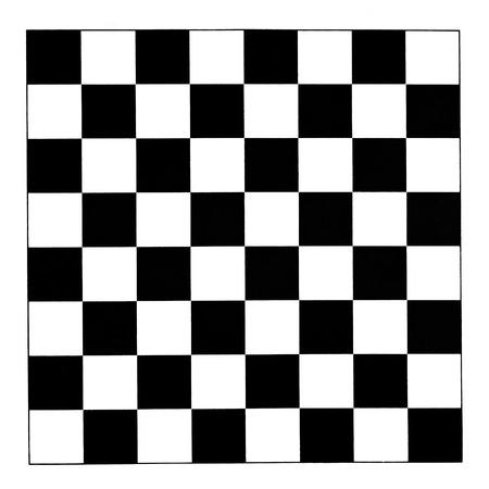 black and white checks of checkerboard photo
