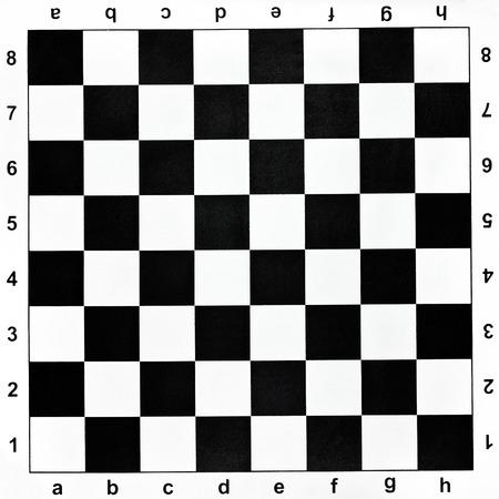 black and white checks of vinyl chessboard photo
