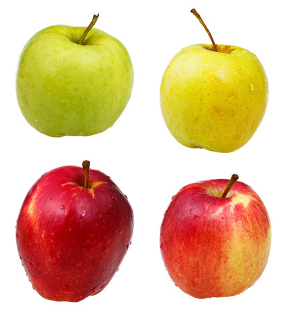 golden delicious red wealthy apples  photo