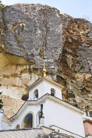 crimean: rock and Saint Uspensky Cave Monastery (Assumption Monastery of the Caves), Crimea