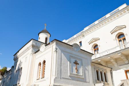exaltation: Cross Exaltation House (krestovozdvizhenskaya) Church of Livadiya Palace, Yalta