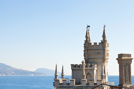 Swallows Nest palace on Southern Coast of Crimea