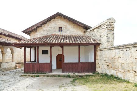 house of prayer: The Small Kenesa (synagogue) - Karaite prayer house, built in 18 century in chufut-kale town, Crimea