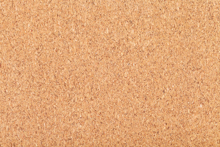 cork sheet: background from sheet of natural wooden cork close up Stock Photo