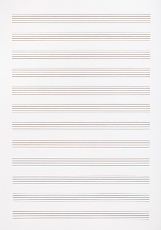 music book: background from blank page of the music book Stock Photo