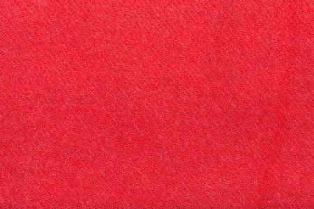 tejido de lana: de fondo de tela de lana rojo de cerca Foto de archivo