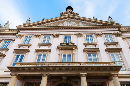 primate: travel to Bratislava city - facade of Primate Palace Editorial