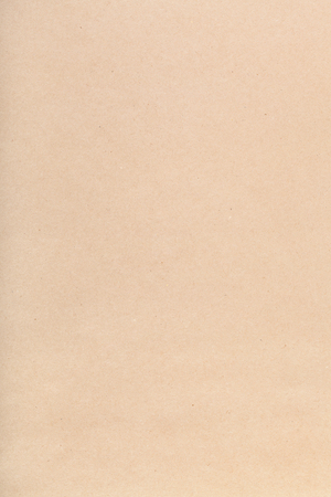 and cellulose: textured vertical background from brown packaging kraft paper