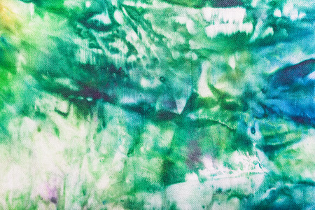 nodular: textile background - abstract hand painted green and blue nodular batik