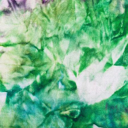nodular: textile background - abstract hand painted green nodular batik