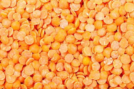 lenteja: Fondo de la comida - sin procesar roja de Split lentejas