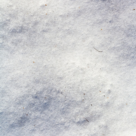 ice crust: natural background - ice crust on snow in cold winter day Stock Photo