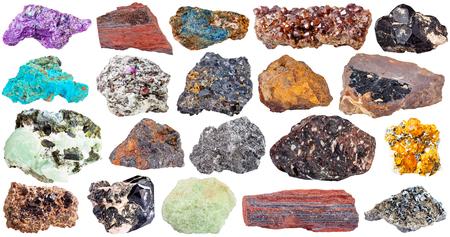spinel: spinel, lazulite, magnetite, chrysocolla, wolframite, limonite, goethite, ferruginous quartzite, jaspillite, hematite, lavrovite, graphite, basalt, spessartine,corundum, stichtite, prehnite, epidote