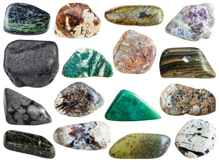 sphalerite: stones - spreushtein, eudialyte, chlorite, lepidolite, arsenopyrite, epidote, aegirine, microcline, sphalerite, fuchsite, marl shale, sanidine, variolite, diopside, porphyry, rhyolite, shungite
