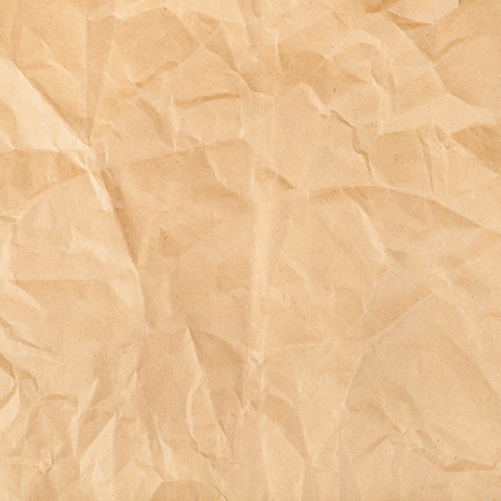 creasy: square background from wrapping brown colour paper close up