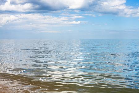 kuban: waterfront of Azov Sea, Temryuk bay, Golubitskaya resort, Taman peninsula, Kuban, Russia