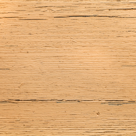 painted wood: wood background - dark yellow painted wooden plank Stock Photo