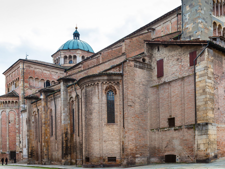 travel to Italy - Parma Cathedral (Duomo) in Parma city