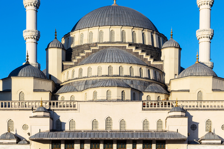Travel to Turkey - dome of Kocatepe Mosque in Ankara city