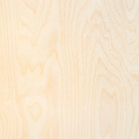 quadratischer Holzhintergrund aus natürlichem Birkensperrholz Standard-Bild