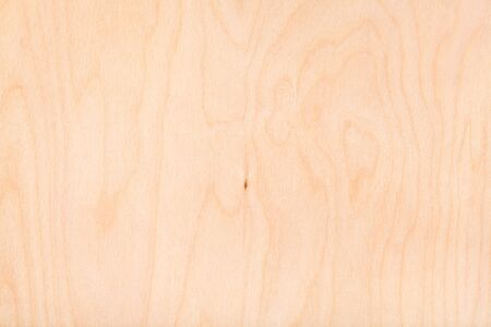textured wooden background from natural birch plywood