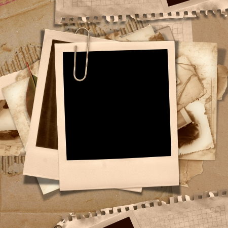 photoalbum: Vintage background with frame