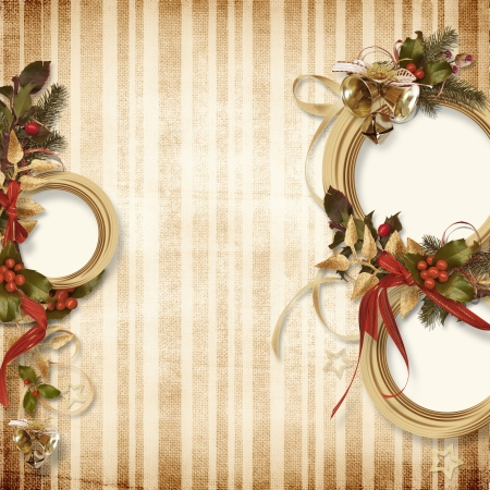 Gorgeous Christmas frame  photo