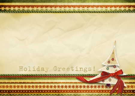 Holiday s greeting card  photo