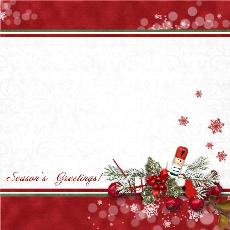 nutcracker: Greeting card with Nutcracker
