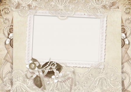 mother of pearl: Amore Vintage card