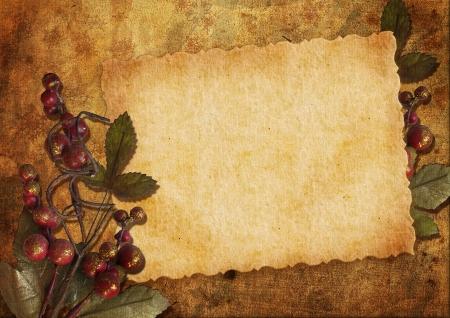 빈티지 크리스마스 카드 스톡 콘텐츠 - 16674814