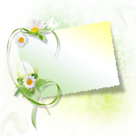 album background: Happy Easter Card Stock Photo